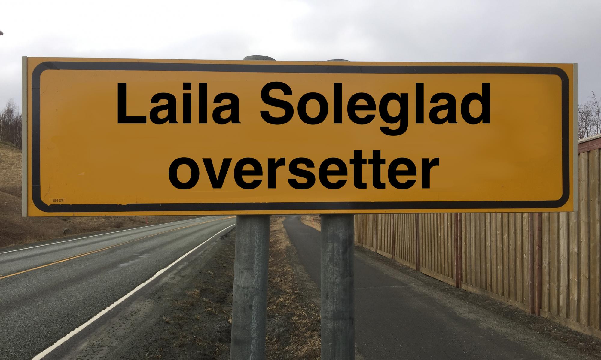 Laila Soleglad oversetter